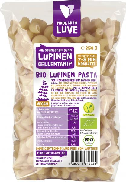 Made with Luve Lupinen Cellentani