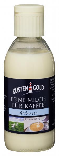 Küstengold Feine Milch für Kaffee 4%