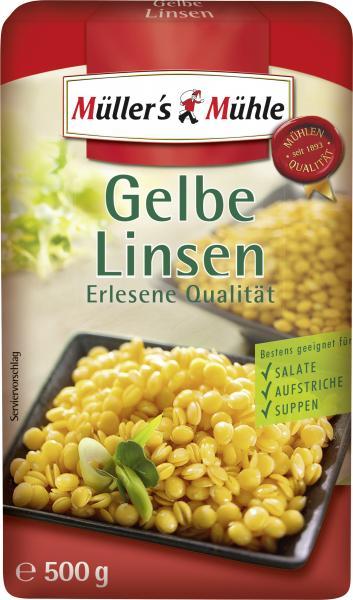 Müller's Mühle Gelbe Linsen