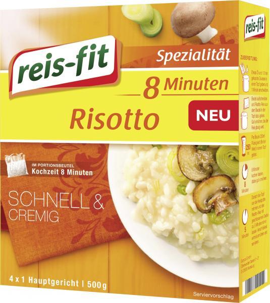 Reis-fit 8-Minuten Risotto Reis