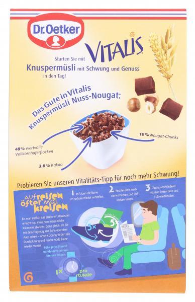 Dr. Oetker Vitalis Knusper Müsli Nuss-Nougat