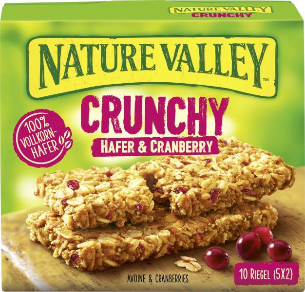 Nature Valley Crunchy Hafer & Cranberry Riegel