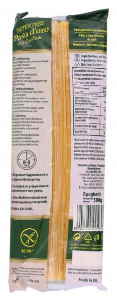 Sam Mills Pasta d'oro Spaghetti Glutenfrei