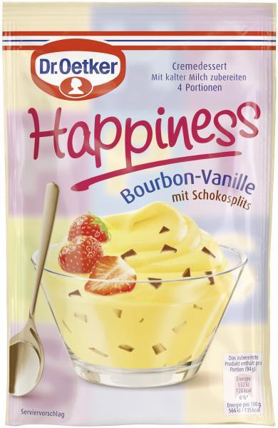 Dr. Oetker Happiness Bourbon-Vanille
