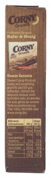 Corny Crunch Hafer und Schoko