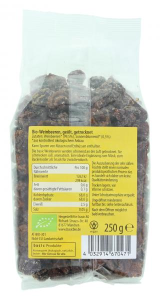 Basic Bio Weinbeeren