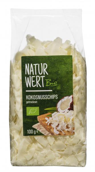 NaturWert Bio Kokosnusschips