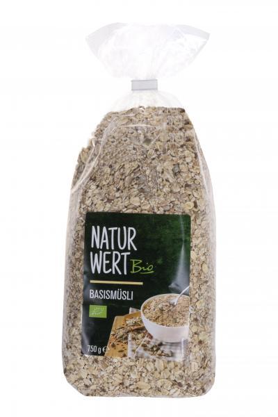 NaturWert Bio Basismüsli