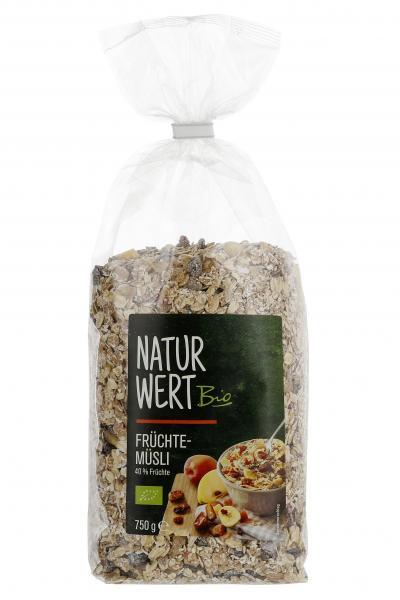 NaturWert Bio Früchte-Müsli