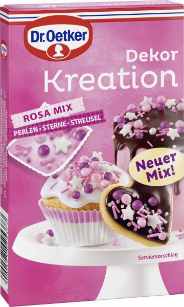 Dr. Oetker Dekor Kreation Rosa Mix