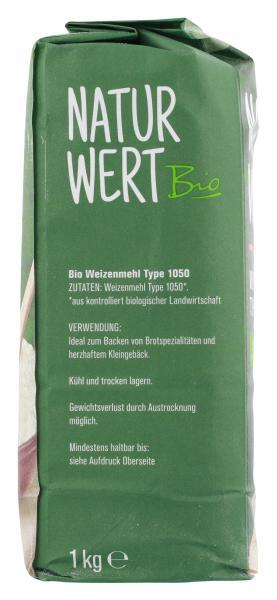 NaturWert Bio Weizenmehl Type 1050