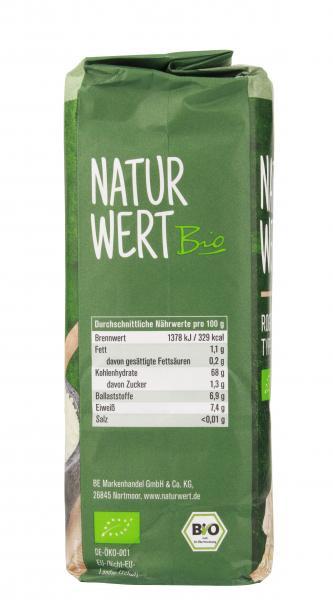 NaturWert Bio Roggenmehl Type 997