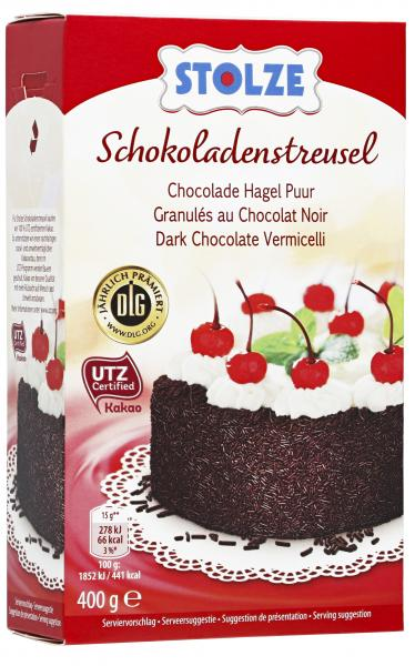 Stolze Schokoladenstreusel
