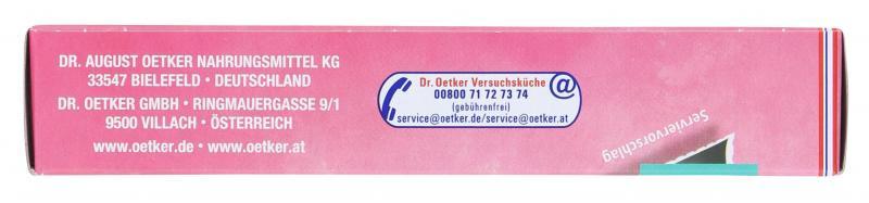 Dr. Oetker Zuckerschrift Schwarz
