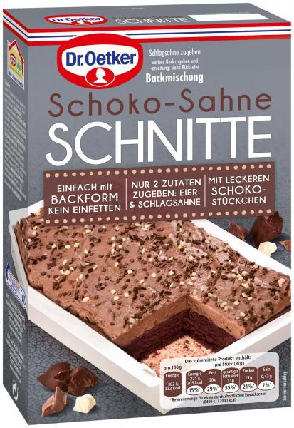 Dr. Oetker Schoko-Sahne Schnitte