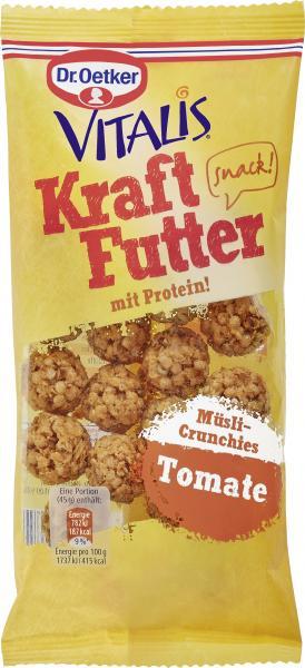 Dr. Oetker Vitalis Kraftfutter Müsli-Crunchies Tomate