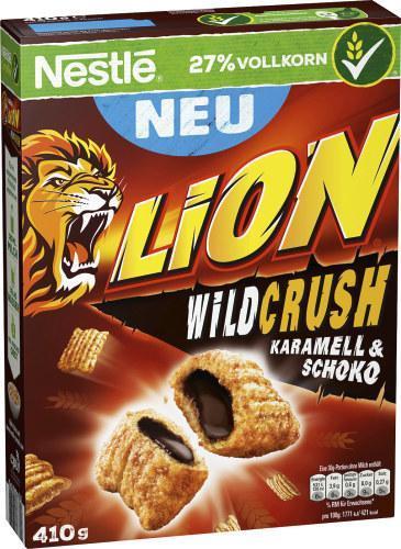Nestlé Lion WildCrush Karamell & Schoko