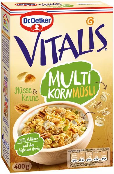 Dr. Oetker Vitalis Multikorn Müsli Nüsse & Kerne