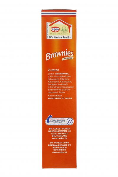 Dr. Oetker Brownies Marmor