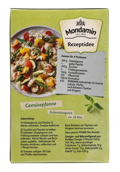 Mondamin Fix Soßenbinder für Gemüse