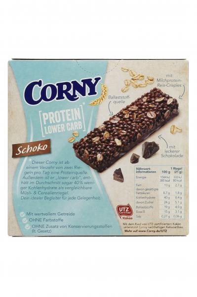 Corny Müsli Riegel Protein Lower Carb Schoko