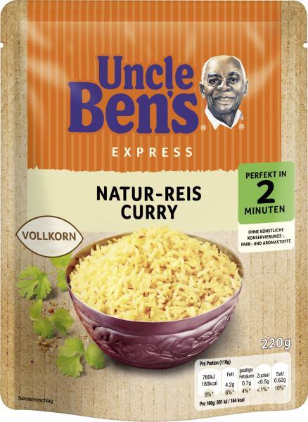 Uncle Ben's Natur-Reis Curry Vollkorn