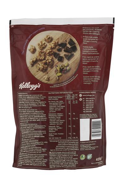 Kellogg's Crunchy Müsli Choco & Pistachio