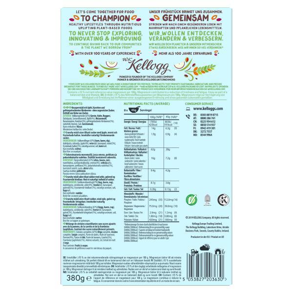 Kellogg's WK Crunchy Müsli Apple, Carrot & Raspberry