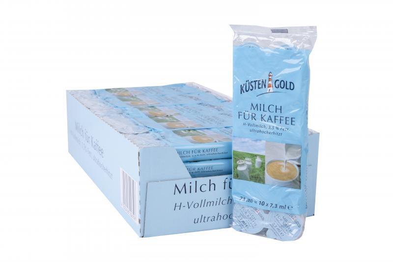 Küstengold Milch für Kaffee 3,5%