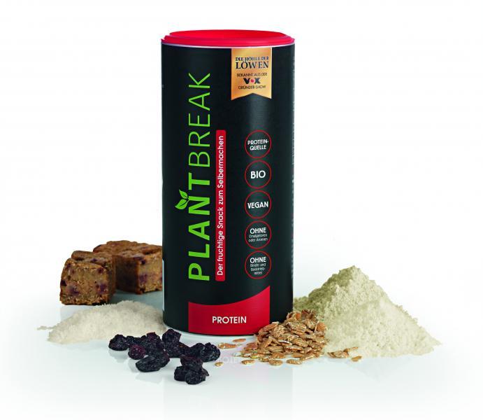 Plantbreak Backmischung Protein fruchtig