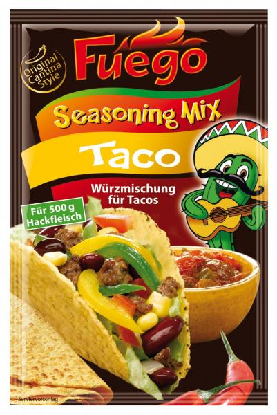 Fuego Seasoning Mix Taco Würzmischung