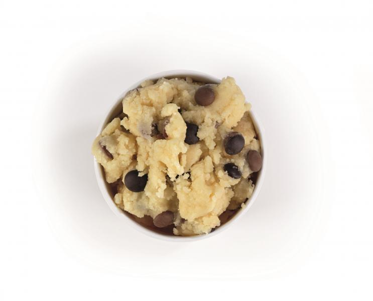 Spooning Cookie Dough Keksteig Chocolate Chips