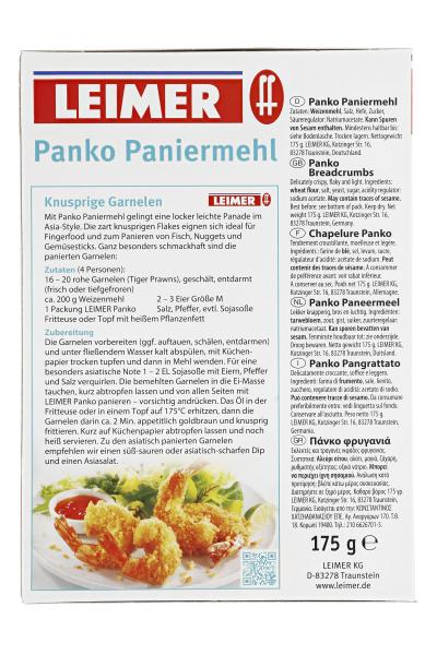 Leimer Panko Paniermehl