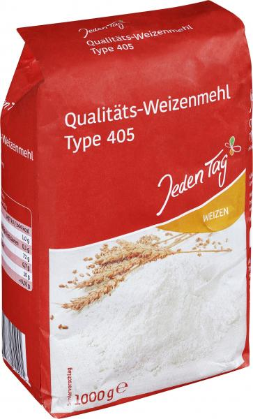 Jeden Tag Weizenmehl Type 405