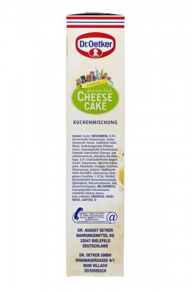 Dr. Oetker Cheesecake American Style Lemon