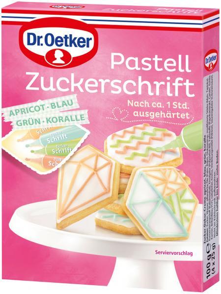 Dr. Oetker Pastell Zuckerschrift