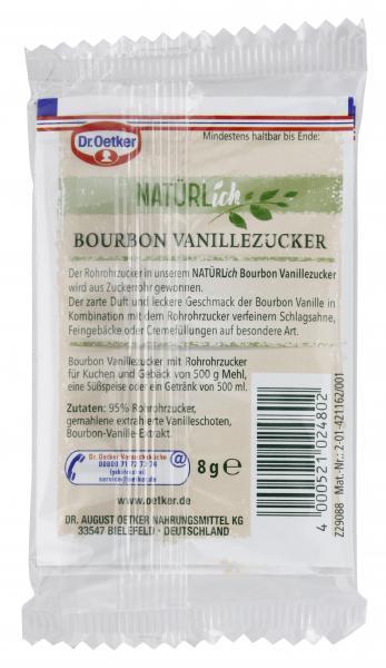Dr. Oetker Natürlich Bourbon Vanillezucker