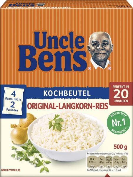 Uncle Ben's Original-Langkorn-Reis