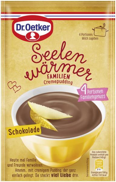 Dr. Oetker Seelenwärmer Familien Cremepudding Schokolade