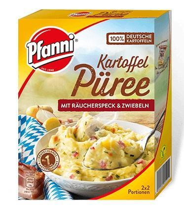 Pfanni Bauern-Püree Zwiebeln & Speck