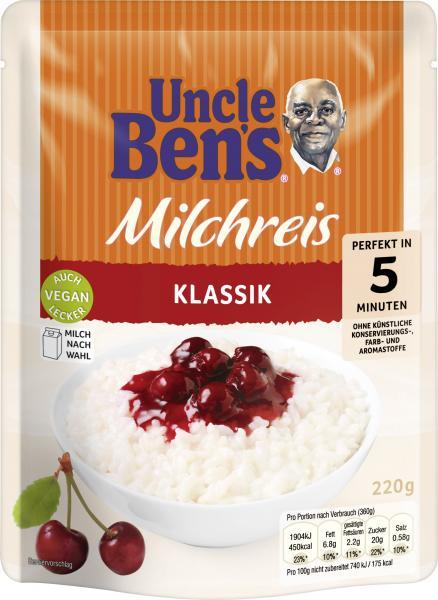 Uncle Ben's Milchreis Klassik