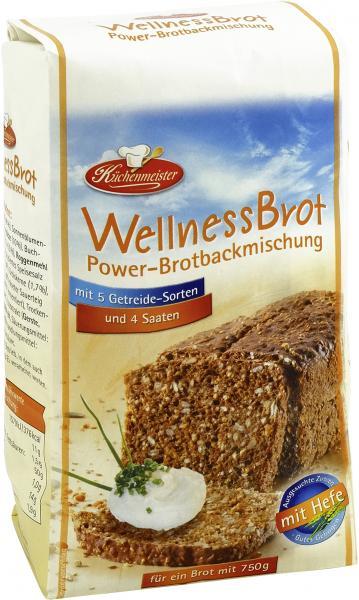 Küchenmeister Backmischung Wellness Powerbrot