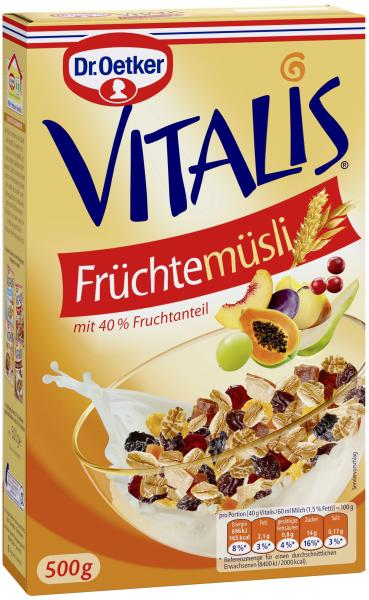 Dr. Oetker Vitalis Früchtemüsli