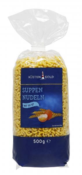 Küstengold Suppen Nudeln Gabelspaghetti