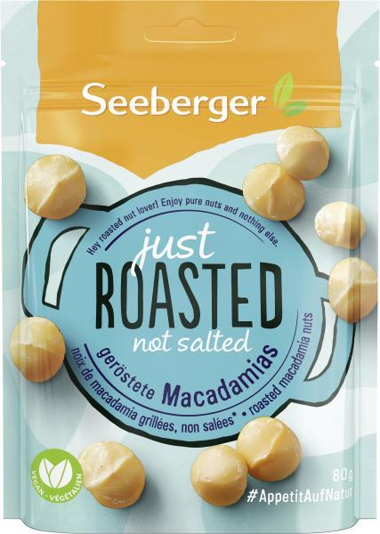 Seeberger Just Roasted Macadamias