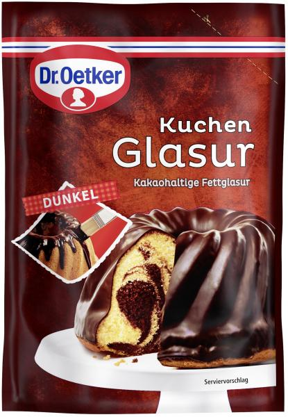 Dr. Oetker Kuchenglasur Dunkel