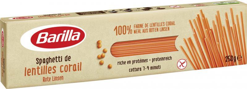 Barilla Spaghetti Rote Linsen