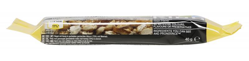 Be-Kind Riegel Honey Roasted Nuts & Sea Salt
