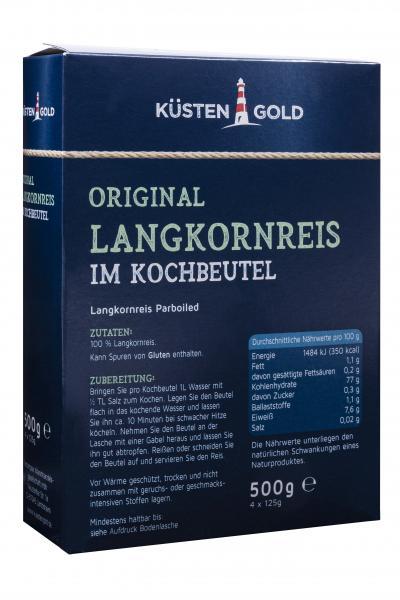 Küstengold Original Langkornreis im Kochbeutel
