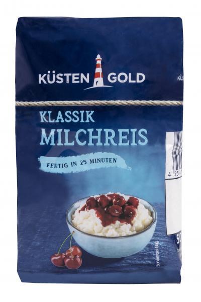 Küstengold Milchreis klassik